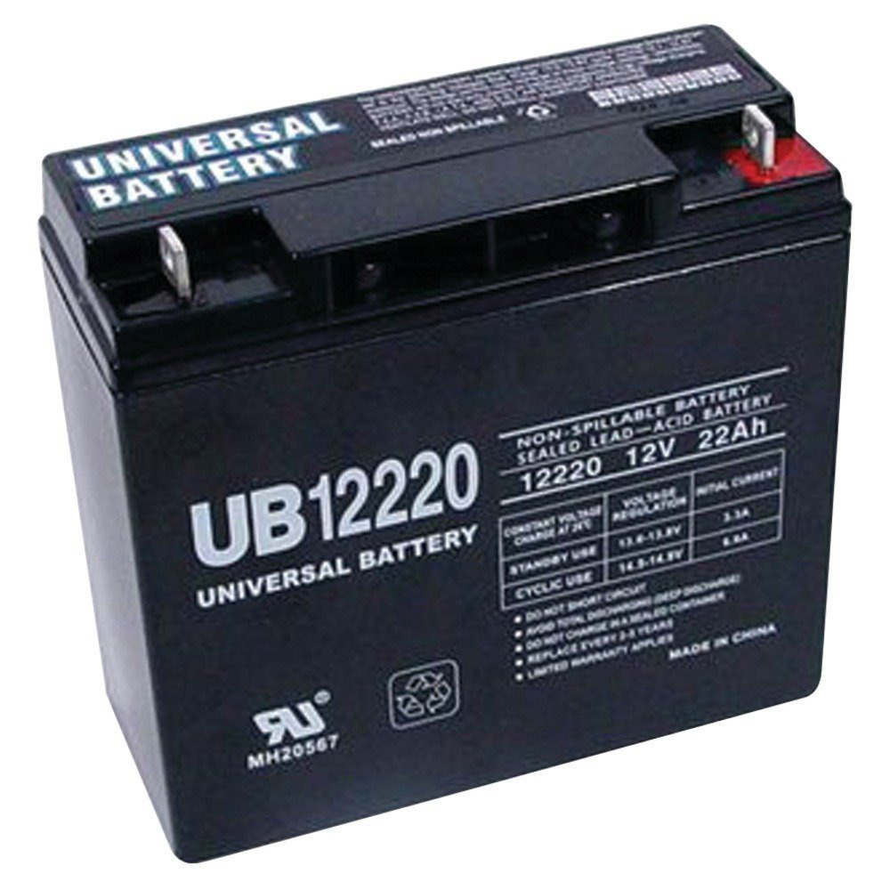 UPG 12V 22AH SLA Battery for Black & Decker VEC026BD Electromate 400 at Sears.com